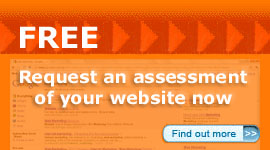 Click here for a free assesment of your website's Internet marketing potential